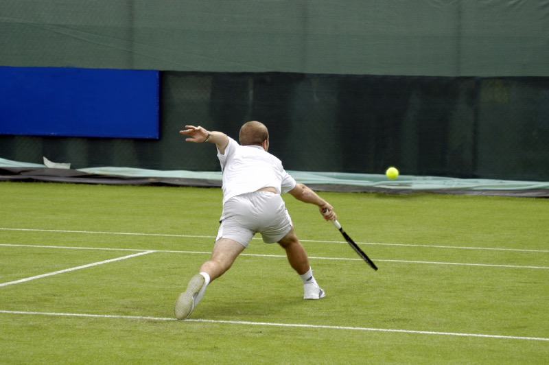 grass tennis court, tennis 101