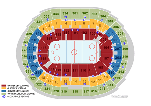 los angeles kings seating chart - staples center