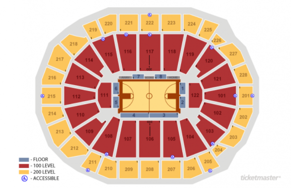 milwaukee bucks seating chart - fiserv forum