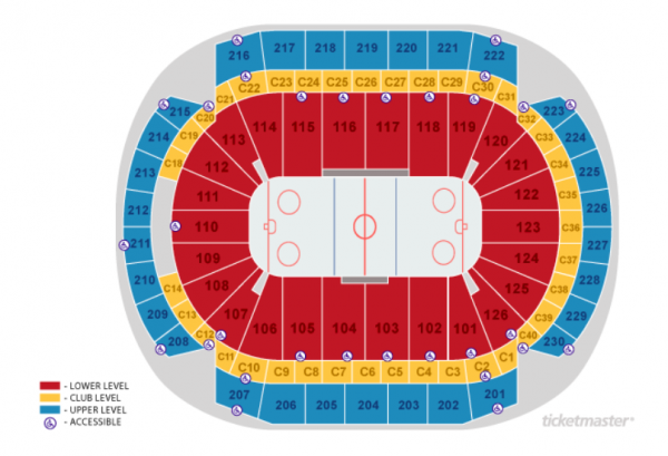 minnesota wild seating chart - xcel energy center