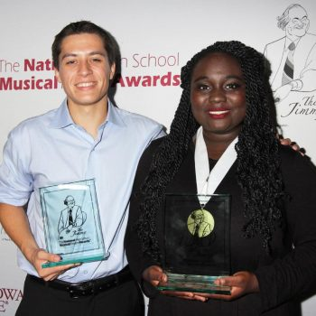 Q&A: National High School Musical Theatre Award Winners Josh Strobl & Amina Faye