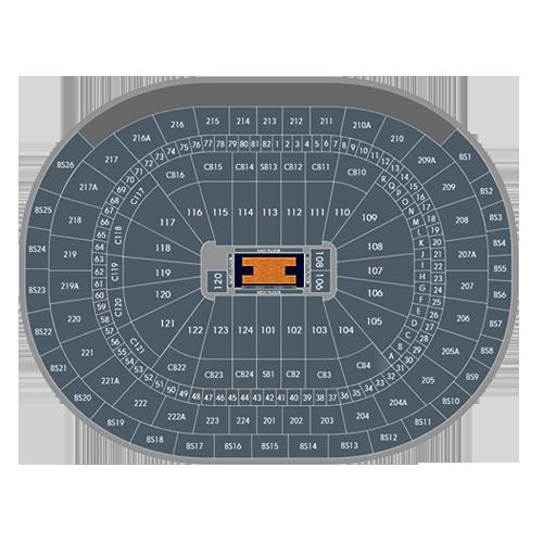 philadelphia 76ers seating chart - wells fargo center