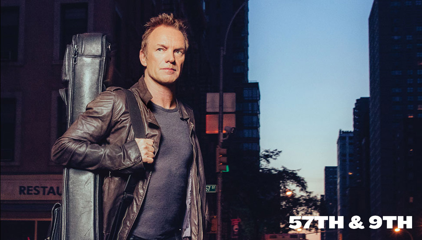 Interview: Sting Talks Tour & New Album 57th & 9th